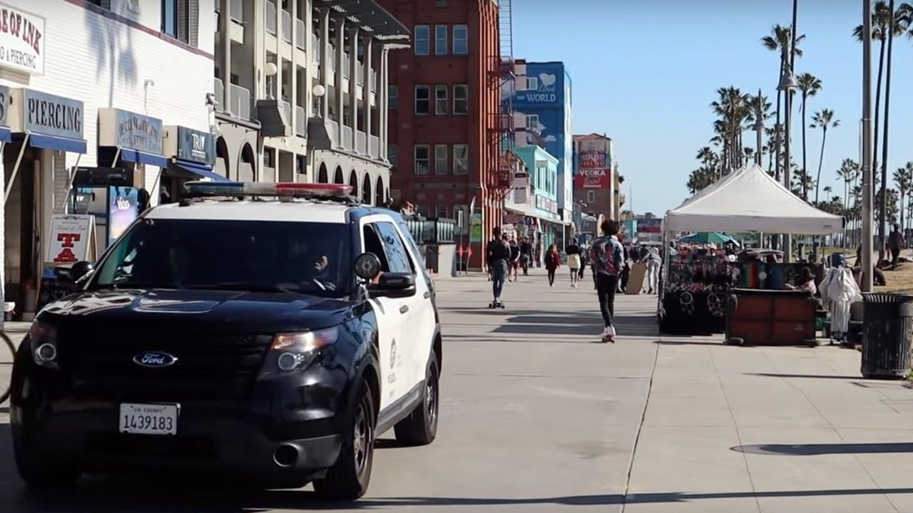 GTA în realitate | Turul celebrei zone Venice Beach din Los Angeles ??