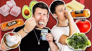 TRYING FOODS CASPAR LEE HAS NEVER LIKED