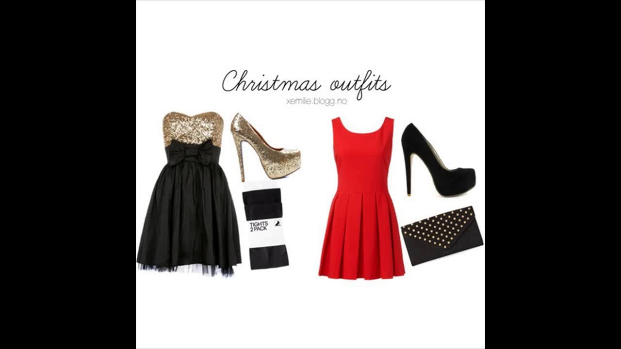 cad2d5a3cbc Christmas polyvore combinations youtube jpg 1280x720 Christmas outfits  polyvore