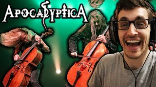 "Hip-Hop Head's FIRST TIME Hearing APOCALYPTICA: ""I Don't Care"" Reaction!!"