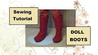 Doll Boots Pattern And Tutorial