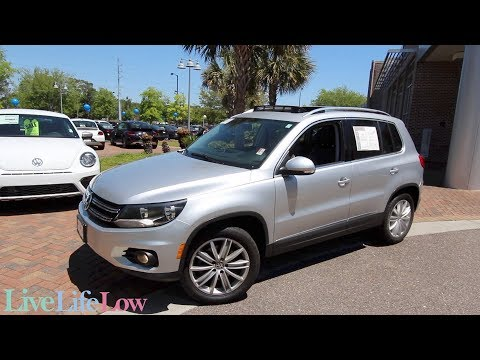 Here's a 2015 VW Tiguan SE - For Sale Review @ Lowcountry Volkswagen   Mt. Pleasant, SC
