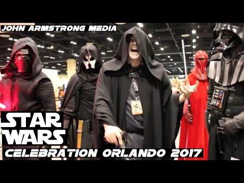 BEST STAR WARS CELEBRATION 2017 ORLANDO VIDEO