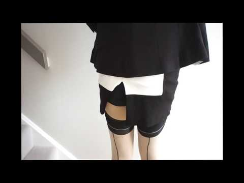 """TRY ON HAUL """"LACE FLORAL THONG!"""" Man's Shirt Jeans Shorts Coffee Pantyhose Shoes 