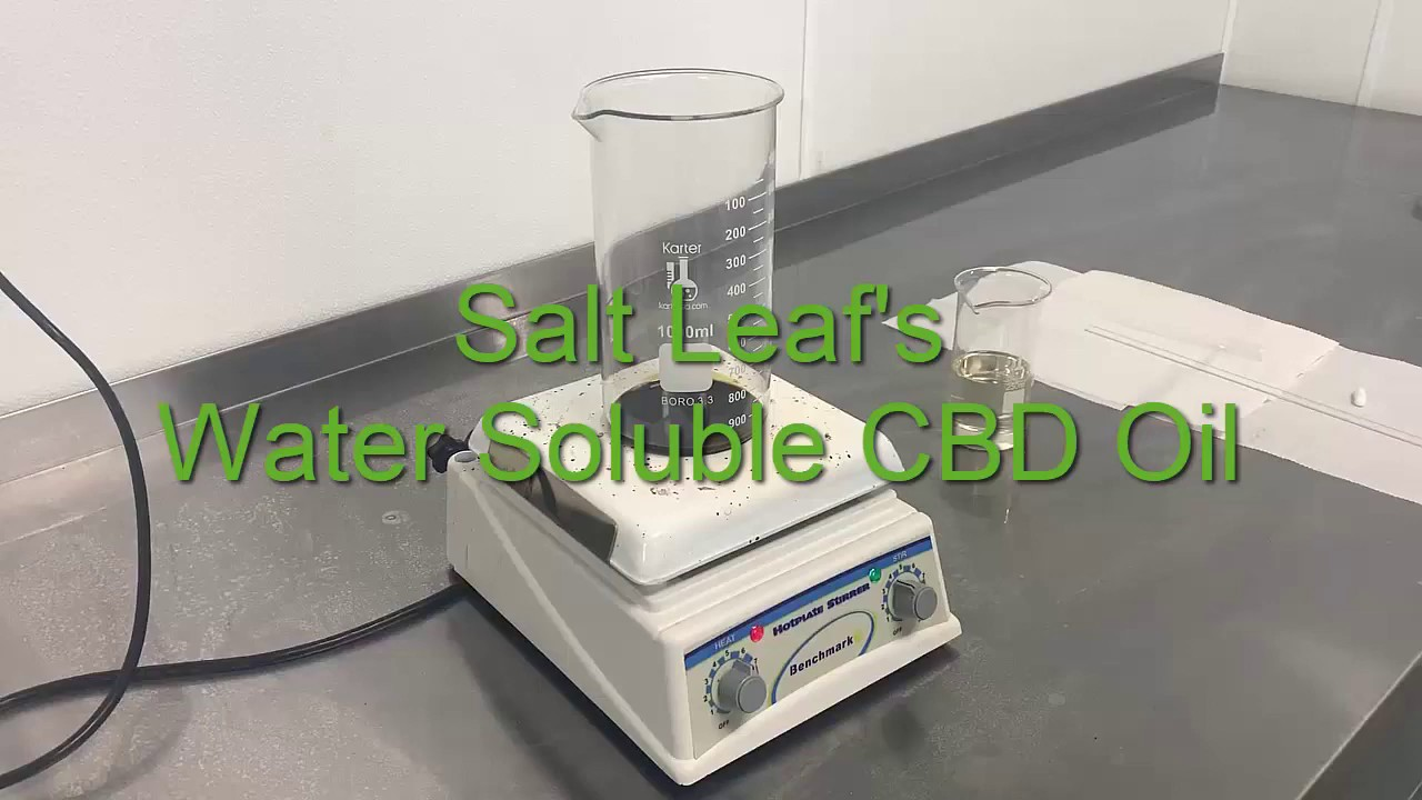 Water Soluble CBD oil