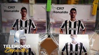 ¡Está en todos lados! Cristiano hasta en el papel de baño | Más Fútbol | Telemundo Deportes