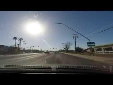 Road trip time-lapse - Las Cruces to Surprise