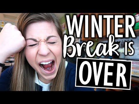 Returning from Break & SNOW DAY!  Teacher Evolution Ep 27