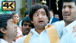Santhanam Comedy scene | Pattathu Yaanai | 4K (English Subtitle)