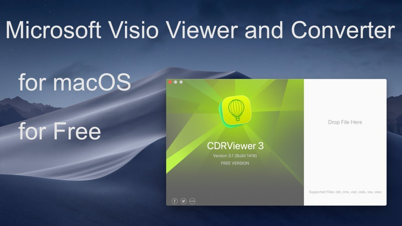 Microsoft Visio Viewer and Converter