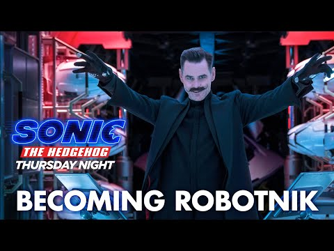 Sonic The Hedgehog 2020 Becoming Robotnik Paramount Pictures Youtube