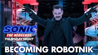 Sonic The Hedgehog (2020) - Becoming Robotnik - Paramount Pictures
