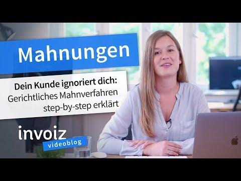 Kunde ignoriert Mahnungen? Wie Du ein gerichtliches Mahnverfahren einleitest! from YouTube · Duration:  2 minutes 3 seconds