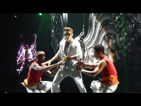 Justin Bieber - All around the world (live) Arnhem Gelredome Netherlands 13.04.2013 concert