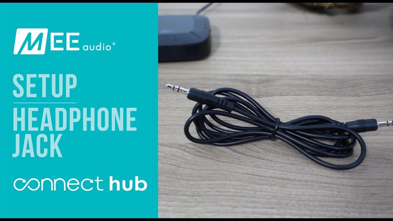 MEE audio Connect Hub | Completing setup using Headphone Jack
