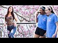 College Kids FREAK OUT to BODY PAINTED GIRL