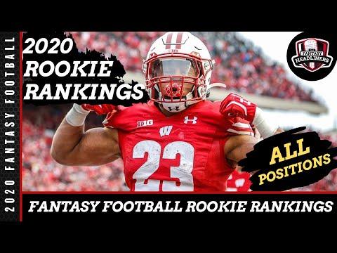 Fantasy Football Rankings - 2020 Top Rookie Rankings - Dynasty And Redraft