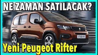 AKILLI OL DOBLO (Yeni Peugeot Rifter inceleme - Cenevre Otomobil Fuarı 2018)