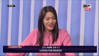 🛑 EDITION SPECIAL LA REVOLUTION DU 23 JUIN 2011 10 ans après   | Mercredi 23 Juin 2021