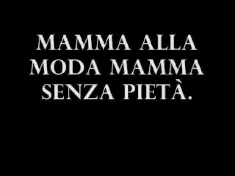 CapaRezza - Mammamiamammà [TESTO]
