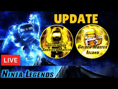 ⚔️⚡ ⚔️GOLD ISLAND!⚡Ninja Legends + Other Games UPDATE ROBLOX LIVE STREAM (19 Jan 2020) #2