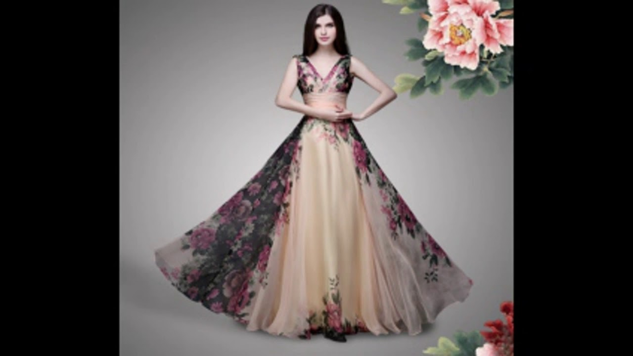 LATEST ONE PIECE DRESS // LONG DRESS // LONG GOWN - YouTube