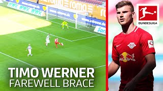 Timo Werner's Farewell Show - His Last Brace For Leipzig