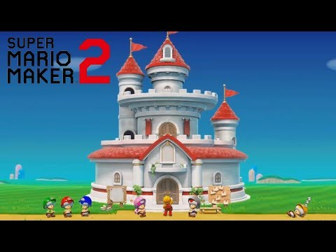 Super Mario Maker 2 Story Mode Trailer Nintendo Direct 2019