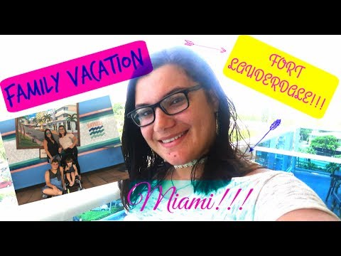 Vacation to Fort Lauderdale and Miami 🌴for the FIRST time (Vlog) 🌞😎🎥!
