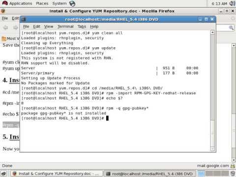 Updating rhel5 to rhel6
