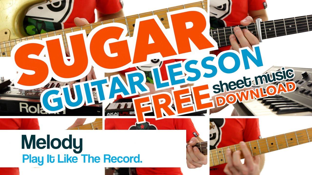 Free Sheet Music For Guitar