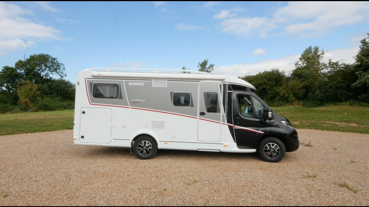 5568e9fc90 The Practical Motorhome 2017 Dethleffs Globebus GT T 6 review - YouTube