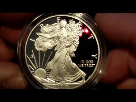 2017-W Proof American Silver Eagle - FIRST LOOK!