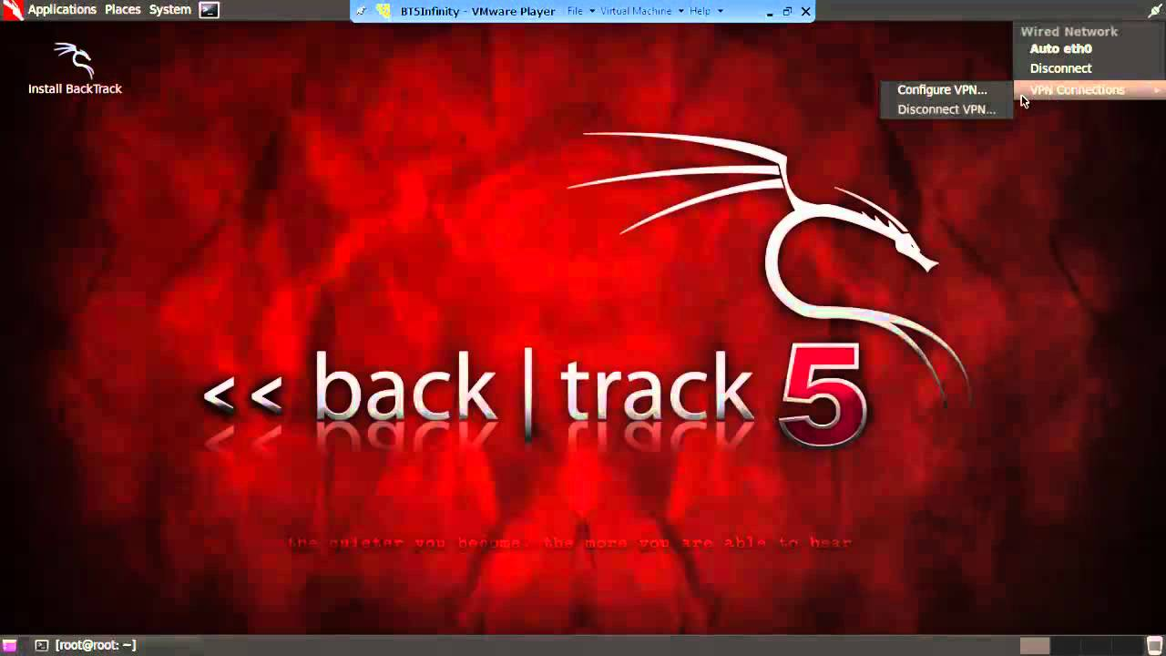 Backtrack 5 r3 wicd no wireless network found