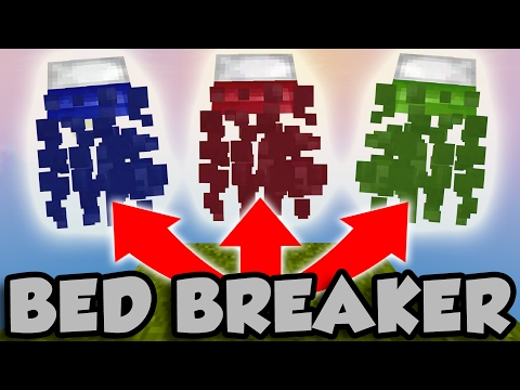 BED BREAKER CHALLENGE | MINECRAFT BED WARS