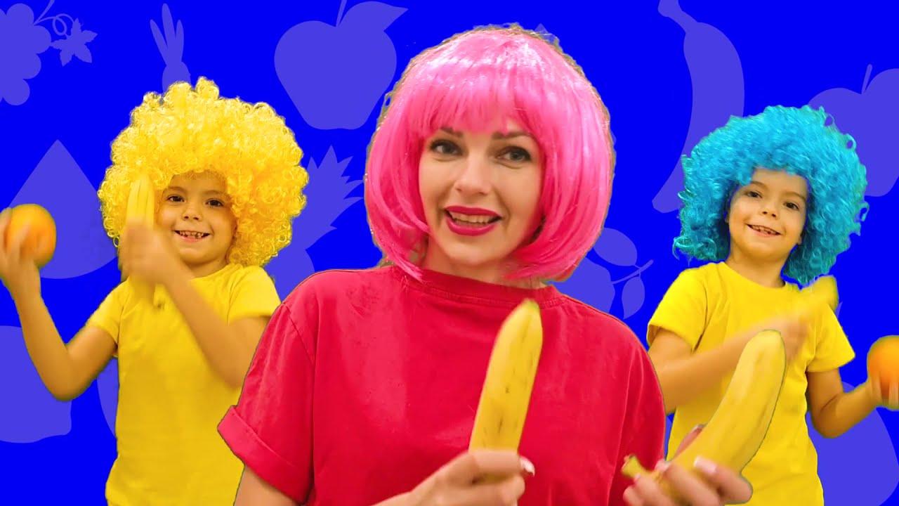 Yummy Fruits & Vegetables   Kids Songs   Kids Music