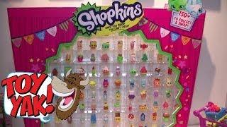 Moose Toys Shopkins Product Walkthrough at New York Toy Fair 2014