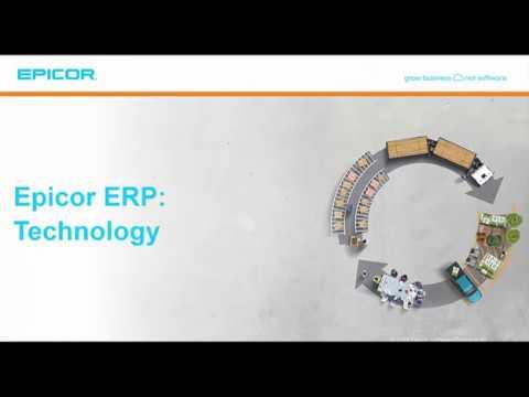 Epicor ERP: Technology
