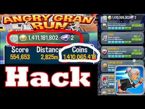 Angry Gran Run HACK | Angry Gran Run Mod Apk | No Root | Angry Gran Run  1.45 Hack - YouTube