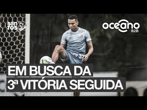 #SANTOS FC BUSCA TERCEIRA VITÓRIA CONSECUTIVA NO BRASILEIRÃO