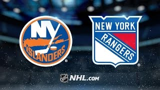 Repeat youtube video Ladd, Greiss lift Isles to 3-2 win against Rangers