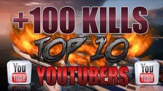 +100 kills à la Mp7   Mes 10 Youtubers préférés !