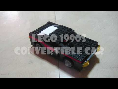 How To Build Lego Convertible Car Youtube