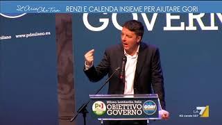Renzi e Calenda insieme per aiutare Gori