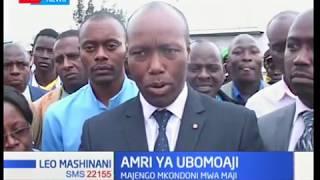 Gavana wa Nakuru Lee Kinyanjui atoa amri ya ubomoaji wa majengo yaliyo mkondoni mwa maji