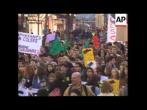 France - Students March For More Funding