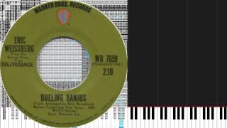 How to play Dueling Banjos by Eric Weissberg & Deliverance on Piano Sheet Music