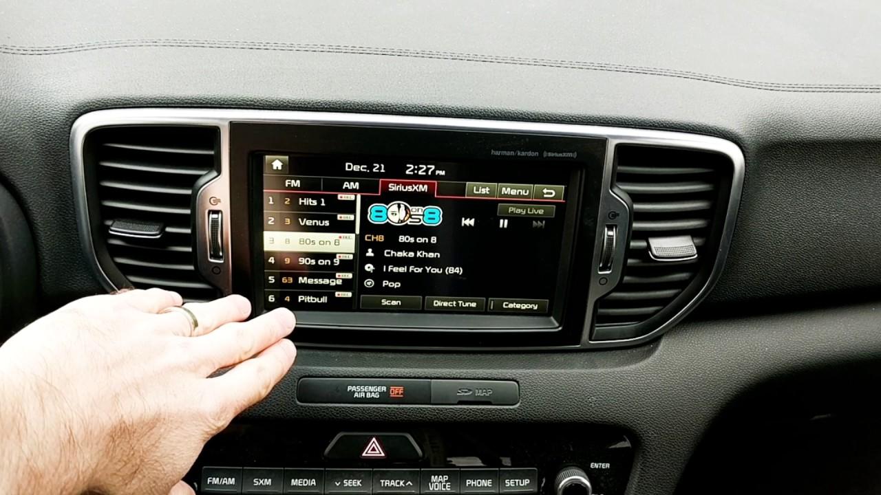 Kia Soul: Sirius XMTM Satellite Radio information