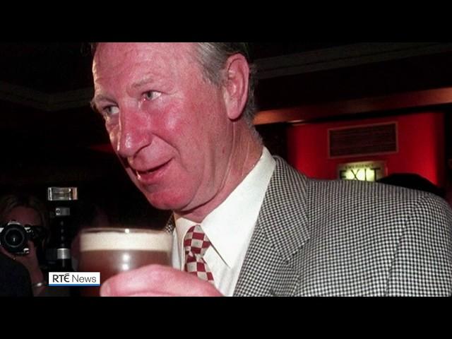 Ireland pays tribute to Jack Charlton - RTÉ Sport