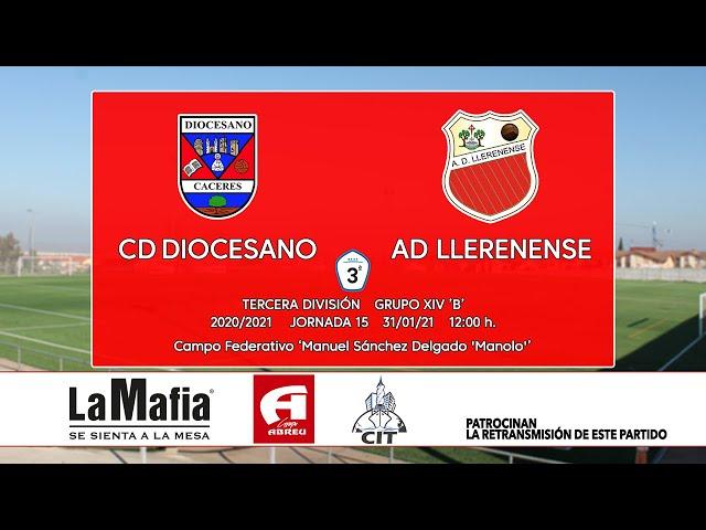 CD Diocesano - AD Llerenense (Tercera División Gr.14 'B' 20/21)